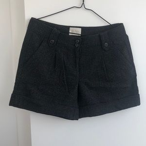 HINGE Dark Charcoal Flannel Shorts Nordstrom's, 4